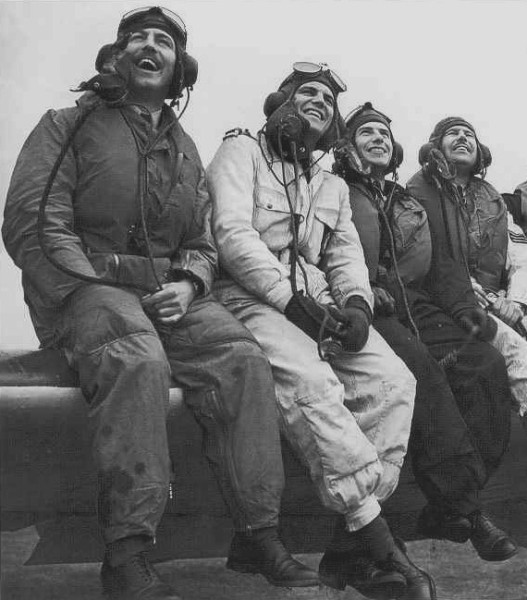 (left to right) Cross, Stewart, Frost, unknown