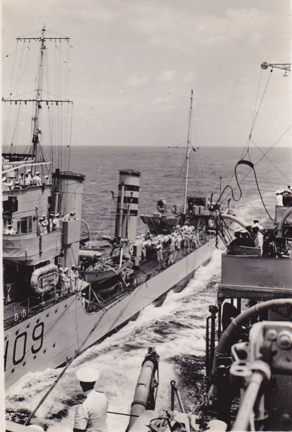 Another view taken from HMS Berwick. Courtesy of Peter Ball